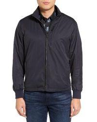 Bugatchi | Blue Reversible Jacket for Men | Lyst