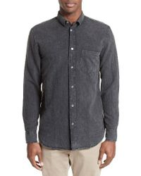 Our Legacy - Gray Generation Linen & Cotton Sport Shirt for Men - Lyst