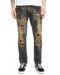 PRPS   Green Demon Slim Straight Leg Jeans for Men   Lyst