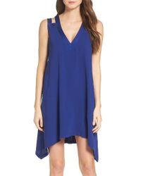 BCBGMAXAZRIA | Blue Swing Dress | Lyst