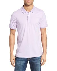 Jeremy Argyle Nyc | Purple Jersey Polo for Men | Lyst