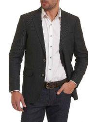 Robert Graham   Black Quinn Sport Coat for Men   Lyst