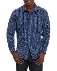 Robert Graham | White Vignesh Classic Fit Sport Shirt for Men | Lyst