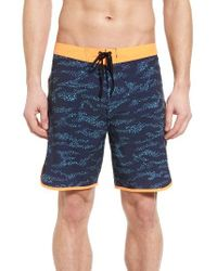 Hurley | Blue Phantom Outcast Board Shorts for Men | Lyst
