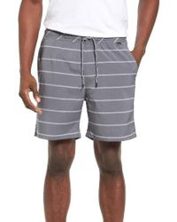 Hurley | Black Dover Dri-fit Volley Shorts for Men | Lyst