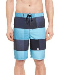 Hurley | Blue Phantom Kingsroad Board Shorts for Men | Lyst