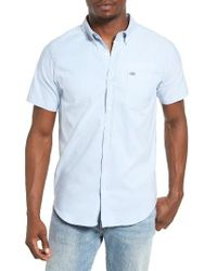 Hurley | Blue One And Only Dri-fit Woven Shirt for Men | Lyst