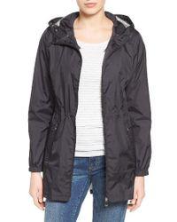 Calvin Klein | Packable Rain Jacket, Black | Lyst