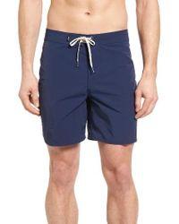 Vans   Blue Pilgrim Board Shorts for Men   Lyst