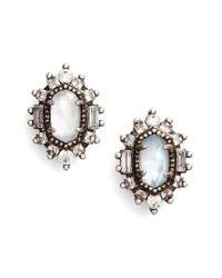 Kendra Scott | Metallic Kaia Stud Earrings | Lyst