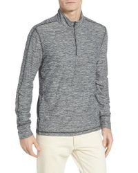Lucky Brand | Gray Quarter Zip Pullover for Men | Lyst