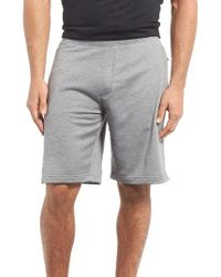 Under Armour | Gray Tech Terry Knit Shorts for Men | Lyst