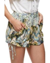 Free People | Multicolor Lisbon Mixed Print Shorts | Lyst