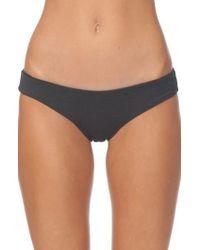 Rip Curl | Black Premium Surf Hipster Bikini Bottoms | Lyst