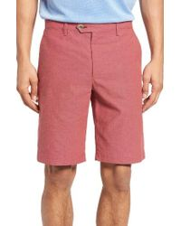 Ted Baker | Red Evisho Cotton Shorts for Men | Lyst