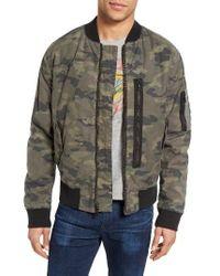 6cd911057 Hudson Jeans Knox Twill Bomber Jacket for Men - Lyst