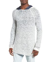 Sol Angeles | Blue Playa Spray Wave Hoodie for Men | Lyst