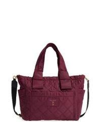 Marc Jacobs | Nylon Knot Diaper Bag - Purple | Lyst