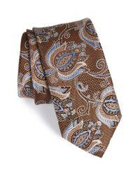 John W. Nordstrom | Brown John W. Nordstrom Paisley Silk Tie for Men | Lyst