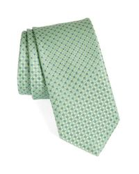 John W. Nordstrom | Green John W. Nordstrom Geometric Silk Tie for Men | Lyst