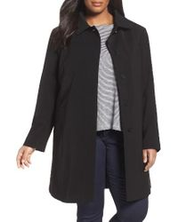 Gallery | Black Nepage Walking Coat With Removable Hood & Liner | Lyst