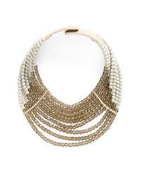 Fairchild Baldwin - Natural Small Masai Collar Necklace - Lyst