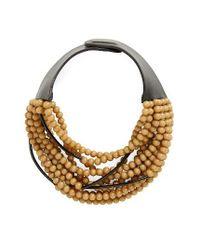 Fairchild Baldwin | Metallic Mini Bella Beaded Collar Necklace | Lyst