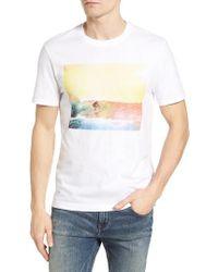Original Penguin | White Heritage Surf Graphic T-shirt for Men | Lyst