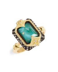 Armenta | Metallic Old World Opal & Diamond Ring | Lyst
