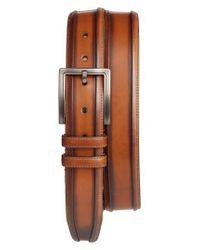Mezlan - Brown Palma Leather Belt - Lyst