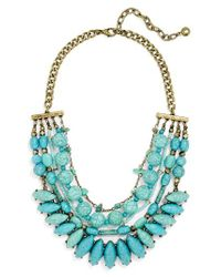 BaubleBar | Blue Marina Collar Necklace | Lyst