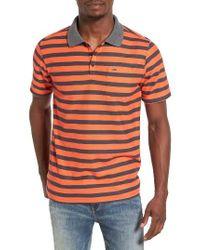 Hurley | Orange Lido Stripe Dri-fit Polo for Men | Lyst