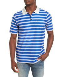Hurley | Blue Lido Stripe Dri-fit Polo for Men | Lyst