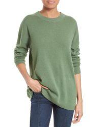 Equipment | Green Bryce Oversize Cashmere Sweater | Lyst