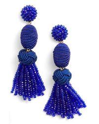 BaubleBar - Blue Amina Drop Earrings - Lyst