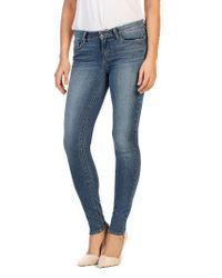 PAIGE | Blue Verdugo Ultra Skinny Jeans | Lyst