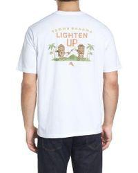 Tommy Bahama - White Lighten Up Graphic T-shirt for Men - Lyst