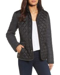 Gallery | Black Multi Media Quilted Jacket | Lyst