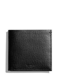 Shinola   Black Hipster Wallet for Men   Lyst