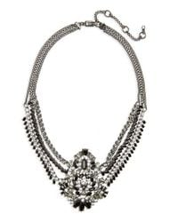 Givenchy | Metallic Phoenix Swag Collar Necklace | Lyst