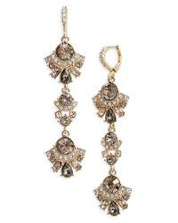 Givenchy | Metallic Verona Linear Earrings | Lyst