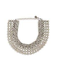DANNIJO - Metallic Vernon Collar Necklace - Lyst