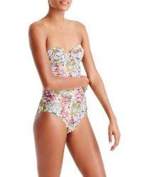 J.Crew - Pink Eloise Underwire One-piece Swimsuit - Lyst