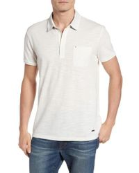BOSS Orange - Natural Plainer Knit Polo for Men - Lyst