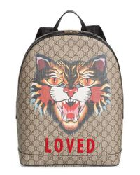 Gucci | Natural Bestiary Backpack | Lyst