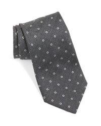 John Varvatos | Gray John Varvatos Star Usa Dot Tie for Men | Lyst