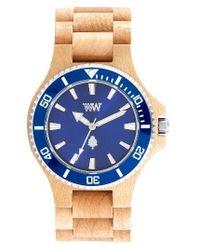 WeWood | Blue Date Mb Wood Bracelet Watch | Lyst