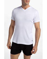 Polo Ralph Lauren | 2-pack V-neck T-shirt, White for Men | Lyst