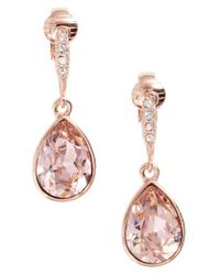 Givenchy - Pink Small Drop Clip Earrings - Lyst