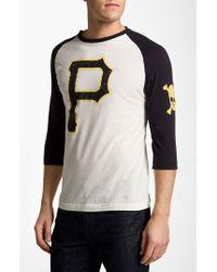 dbe986876 Lyst - Wright   Ditson  pittsburgh Pirates  Baseball T-shirt in ...